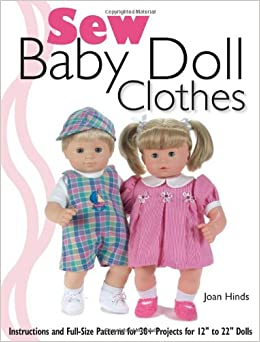 make doll clothes size
