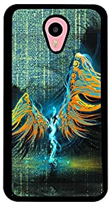 PrintVisa Abstract Angel Case Cover for Meizu M1 Note (2D-MM1N-D7633, Multicolour)