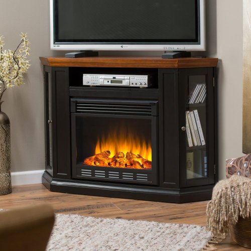 Claremont Convertible Electric Fireplace Media Console picture B00FODGHLO.jpg