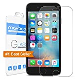 iPhone 6S Screen Protector, Maxboost® iPhone 6 6S Glass Screen Protector [3D Touch Compatible - Tempered Glass] 0.2mm Screen Protection Case Fit [Lifetime Warranty] [DO NOT FIT iPhone 6/6S Plus]