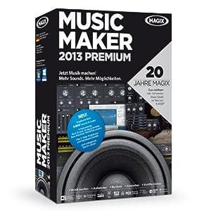 MAGIX Music Maker 2013 Premium (Jubiläumsaktion inkl. Music Studio)