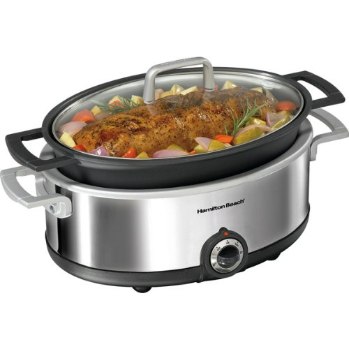 Premiere Cookware 5.5-Quart Oven-Safe Slow Cooker