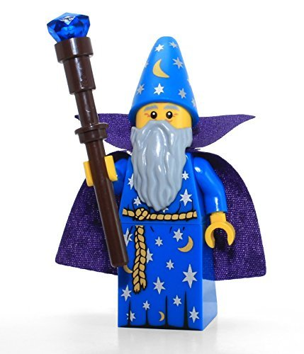 LEGO Series 12 Collectible Minifigure 71007 - Wizard - 1