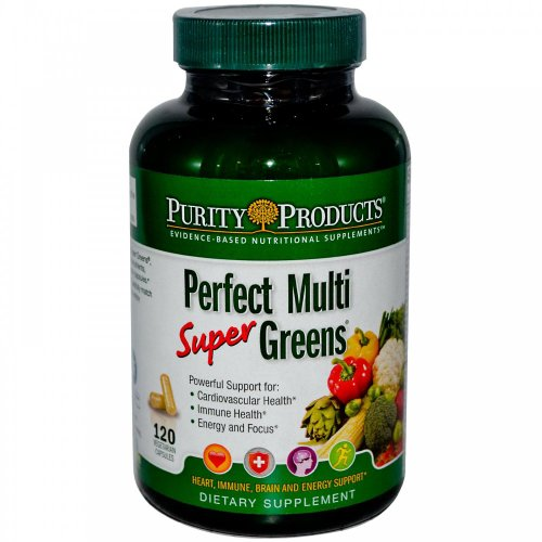Purity Products Perfect Multi Super Greens Dietary Supplement Health Nutrition