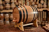 American Oak Barrel | Age your own Tequila, Whiskey, Rum, Bourbon, Wine - 20 Liter or 5.3 Gallons