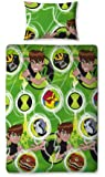 Character World Ben 10 Omniverse Single Rotary Duvet Set, Multi-Color