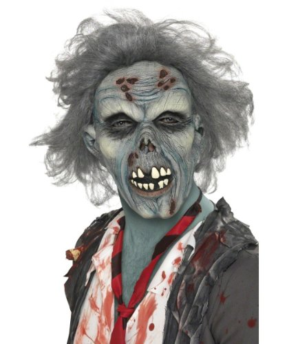 Smiffys-Mens-Decaying-Zombie-Mask-with-Hair
