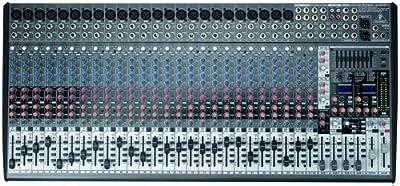 Behringer EURODESK SX3242FX Ultra-Low Noise Design 32-Input 4-Bus Studio/Live Mixer from Behringer USA