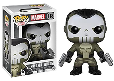 Funko POP Marvel: Nemesis Punisher Action Figure by Funko