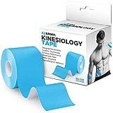 AZSPORT Kinesiology Tape, Uncut 2 Inch x 16 Foot Roll, Blue