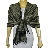 Fashion Scarf Women Dress Silk and Viscose Clothes From India 20 X 72 Inches ~ ShalinIndia