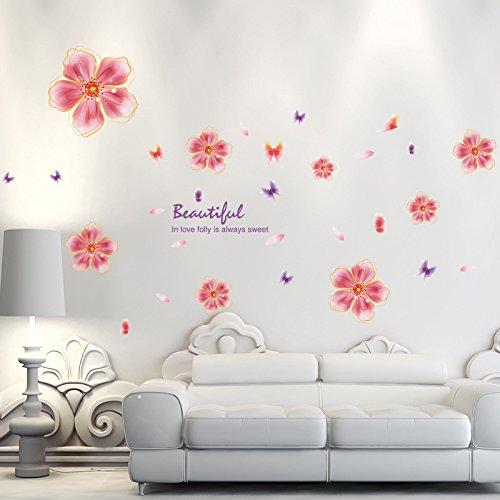 douce-fleur-mur-autocollants-autocollant-pvc-plat-salon-chambre-mur-des-enfants-chambre-decoration-a