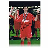 Robbie Fowler Signed Liverpool Photo: Worthington Cup MOM