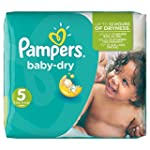Pampers Windeln Baby Dry Gr. 5 Junior...