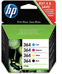 Hewlett Packard SD534EE - Cartucho Inyeccion Tinta Rainbow Pack 364 Combo-Pack Pack 4/C309G