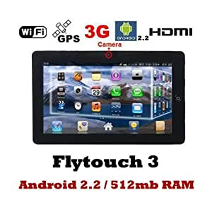 """New 10.2"""" Superpad/Flytouch X220 16GB 1GHz Froyo Android 2.2 with Leather Case Tablet PC with 512mb ram GPS, HDMI+RJ45"""