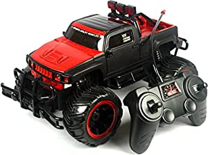 WebKreature Bigfoot Extreme Rock Crawler Monster Truck With Radio Controller Red / Green