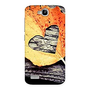 Special Leaf Heart Back Case Cover for Honor Holly