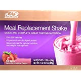 Advocare Meal Replacement Shake, Berry, Box of 14 Single Serve Pouches