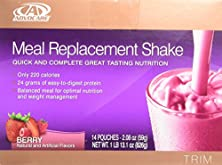 buy Advocare Meal Replacement Shake, Berry, Box Of 14 Single Serve Pouches