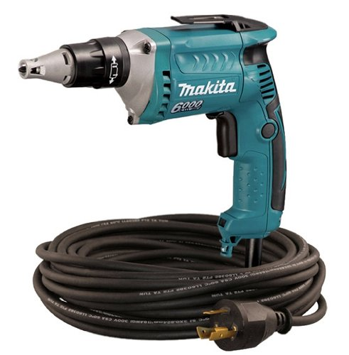 Makita FS6200TP 6,000 RPM Drywall Screwdriver with 50 foot Twist Lock Cord