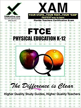 FTCE Physical Education K-12 Flashcard Study System on DVD ~2016~ Complete! L@@K
