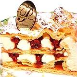 最高級洋菓子 ドイツの銘菓 フロッケンザーネトルテ ショートケーキ 15cm プレートなし