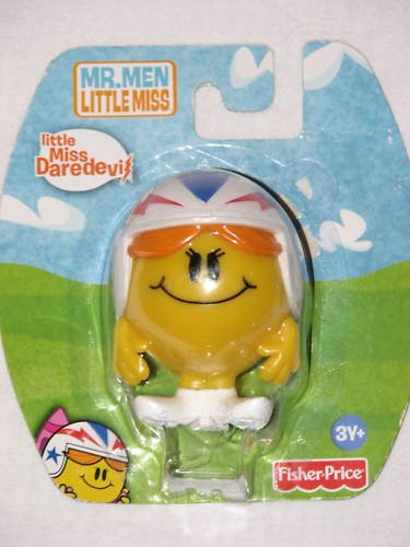 Picture of Fisher Price Little Miss Daredevil 3-inch Figurine (The Mr. Men Show) Figure (B003TYUGL2) (Fisher Price Action Figures)