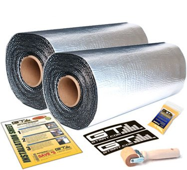 =>>  GTMAT 110 100 sqft Automotive Sound Insulation 110mil Super Thick- Noise Rattle Eliminator Deadener Dampening Installation Kit Includes: 100sqft 2 Rolls of 50sqft (18