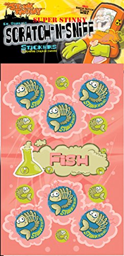 Scratch-N-Sniff Stickers- Fish