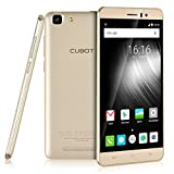 Cubot Rainbow Smartphone Ohne Vertrag (5.0 Zoll HD IPS-Display, 3G WCDMA 2G GSM Android 6.0 Handy, MTK6580 1.3GHz Quad Core, 1280x 720 pixels, 13 Megapixel-Kamera mit 16GB ROM, Dual SIM Karten Dual Standby) Gold