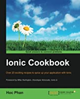 Ionic Cookbook Front Cover