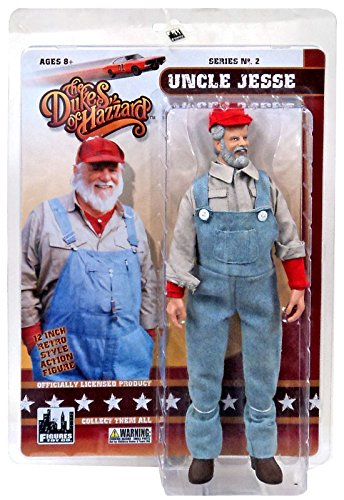 "The Dukes of Hazzard Series 2 Uncle Jesse 12"" Action Figure [12""]"