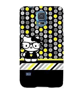 Cool Crazy Fashion 3D Hard Polycarbonate Designer Back Case Cover for Samsung Galaxy S5 Mini :: Samsung Galaxy S5 Mini G800F
