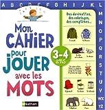 echange, troc Muriel Servadio-Martin, Christian Lamblin, Delphine Renon - Mon cahier pour jouer avec les mots : 3-4 ans