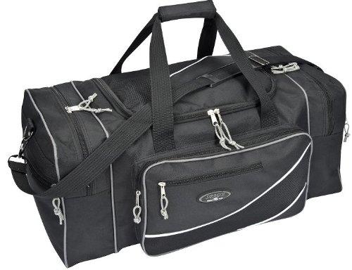 XL Reisetasche Sporttasche schwarz ca. 70x36x32