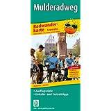 Radwanderkarte Mulderadweg: Mit Ausflugszielen, Einkehr- & Freizeittipps, wetterfest, reißfest, abwischbar, GPS-genau. 1:50000