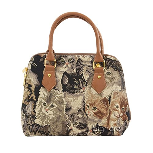 convertible-ladies-fashion-handbags-shoulder-bags-canvas-lady-29-collection-lucky-cat