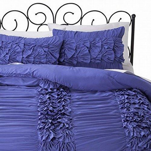 xhilaration-twin-xl-purple-violet-layered-ruffle-comforter-sham-set