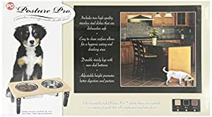 POSTURE-PRO Adjustable Double Diner, Oak, 2-Quart