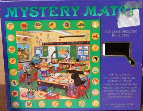 Mystery Match Decoder Lens Puzzle 100 Piece - 1