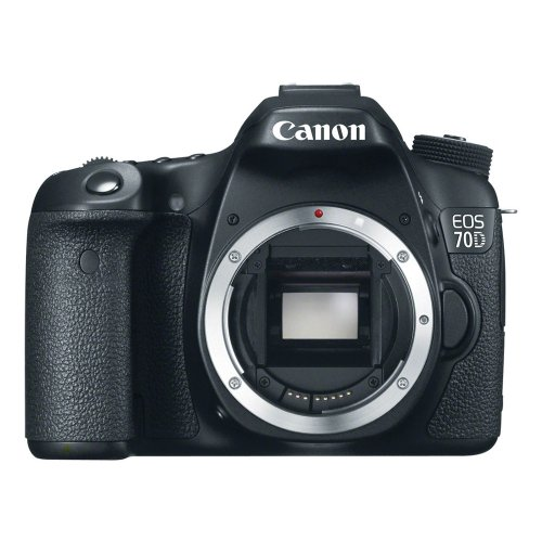 Canon EOS 70D 20.2 MP Digital SLR Camera with Dual Pixel CMOS AF  (Body Only)