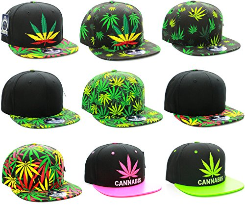 American-Cities-Cannabis-Marijuana-Support-Adjustable-Snapback-Hat-Cap