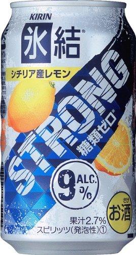 キリン 氷結ストロング シチリア産レモン 缶 350ml×24本