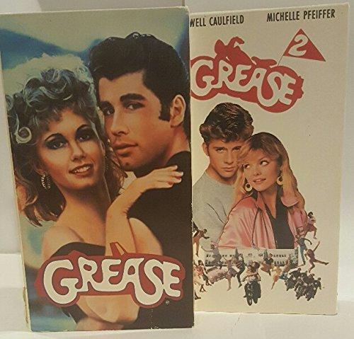 Lot of 2 Grease VHS ~ Grease VHS, Grease 2 VHS (Grease 2 Vhs compare prices)
