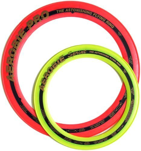 "Aerobie Pro Ring (13"") and Aerobie Sprint Ring (10"") set - Assorted Colors - 1"