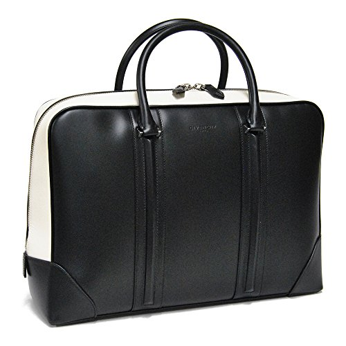(ジバンシー)GIVENCHY LC BRIEF CASE ブリーフケース・ビジネスバッグ BJ05871507 004/BLACK*WHITE [並行輸入品]