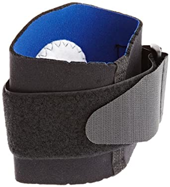 Scott Specialty 3410-15-500 Latex Free Neoprene Tennis Elbow Support with Strap, Large