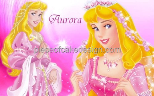 1/4 Sheet ~ Disney Princess Sleeping Beauty Aurora Birthday ~ Edible Image Cake/Cupcake Topper!!!