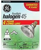 G E Lighting 20758 45-Watt Halogen Floodlight Bulb - Quantity 6